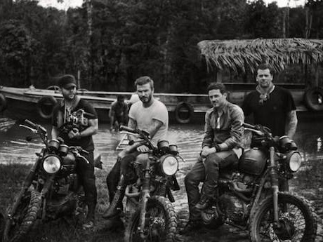 Beckham crew in the Amazon