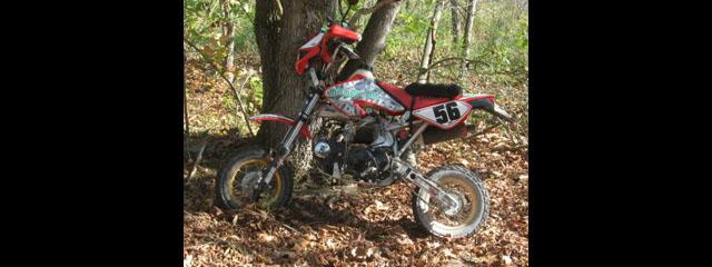 Hot Rod Honda 50